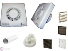 Manrose XF100T Timer Toilet Extractor Bathroom Fan With or Without Kit 100mm 4""