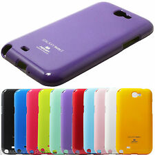 Samsung Galaxy Note II 2 N7100 Glossy Shiny Pearl Mercury Jelly Phone Case