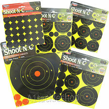 Birchwood Casey Shoot-N-C High Viz Shooting Targets - Choose Size/Variation!
