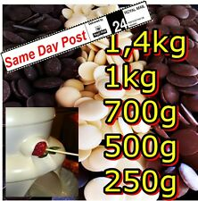 Chocolate Fountain Buttons 300- 1.4kg For Celebrations & Parties Desserts Baking