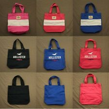 Hollister Womens Classic Book Tote Bag Handbag by Abercrombie No Size NWT!