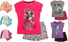 Girls NWT OFFICIAL MONSTER HIGH HELLO KITTY PYJAMAS PJS 7 8 9 10 11 12 13 14