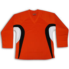 Orange Hockey Jersey DRY FIT EDGE INSPIRED DJ200