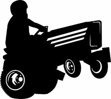 Lawn Tractor Pulling Gardner Tractor Sticker Decal 4 Laptop Window Trailer Truck