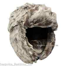 WINTER UNI-SEX LADIES MENS FAUX FUR TRAPPER COSSACK RUSSIAN STYLE HAT ONE SIZE