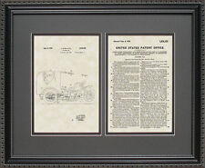 Patent Art - 3-Wheel Delivery Trike - Indian Motorcycle Print Gift ST6155