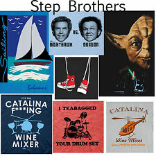 CHOOSE FROM Official Seen On Adult Mens Comedy Movie Step Brothers T-Shirt Tee