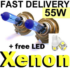 H1 H3 H4 H7 H11 Super Bright Headlight Xenon HID Look Halogens + FREE T10 LED'S