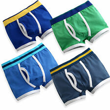 "NEW Vaenait Baby Boy 4 pack of Underwear Boxer Briefs ""Style Band-Boxer-4 Sets"""