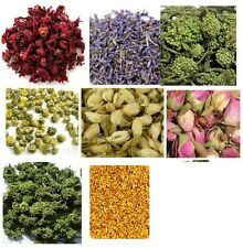 Dried Flower Tea - Rose, Ginseng, Chrysanthemum, Hibiscus, Notoginseng, Jasmine