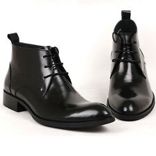 US 5 -10 Leather lace up oxford formal Dress Shoes Mens boots tuxedo  [JG]