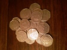 UK 50p royal mint circulated commemorative coin x 1, various to choose from