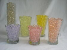 Water beads -USA water jelly beads -29 different colors -each pk makes 1 1/2 Qrt