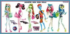 Monster High SWIM CLASS SWIMSUIT Fashion Swimming Doll NEW Exclusive Wave 1 2 3