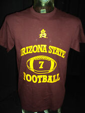 NEW ARIZON STATE UNIVERSITY SUN DEVILS FOOTBALL MAROON T-SHIRT (SIZES: S,M,L,X)
