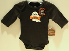 GLOW-IN-THE-DARK HALLOWEEN BABY COSTUME Newborn 0-3 Months Infant Ghost Boo NEW