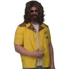 Dude Art Bowling Shirt Big Lebowski Dress Up Halloween Adult Costume Accessory