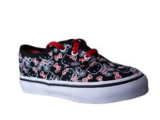 Vans Authentic Hello Kitty Black &White  or  Pink & White Trainers
