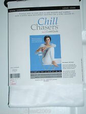Chill Chasers by Cuddl Duds - Long John - White - You select size (NWT)