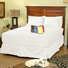 Organic Cotton 500 Thread Count Deep Pocket Fitted Sheet & Pillowcase - 6 Sizes