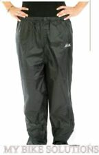 100% RAIN WIND WATERPROOF MOTORCYCLE DISABILITY SCOOTER PULLOVER TROUSER SUIT