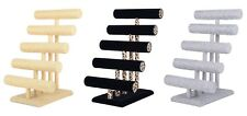"18"" 5 Tier Jewelry Hard Display Stand Holder Bracelet Chain Bangle Watch T-bar"