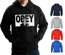 THEY LIVE HOODIE OBEY CONSPIRACY VENDETTA HOODED SWEATER RODDY PIPER NWO