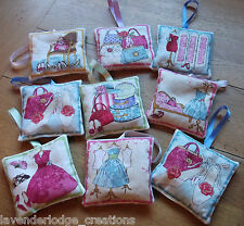Lavender Bags Sachets Shabby Chic Designs Dress Shoes Handbags Aromatic Gifts