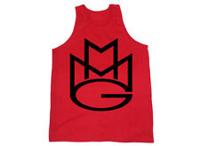 MAYBACH MUSIC TANK TOP MMG Rick Ross Wale Meek Mills Stalley Omarion *Black/Red*