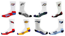 NBA Team Logo Socks, Crew Length (Large 8-13)