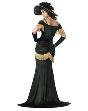 Green Wild West Cantina Girl French Brothel Burlesque Victorian Steampunk Dress