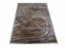 India Hand Tufted Modern Semi Worsted Wool Carpet Area Rug Alfombras Hali RC EHS