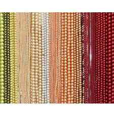 3-12mm Round Glass Pearl Beads - 30 colours to choose from