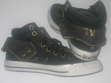 New  CONVERSE CTAS PC2  MID with Zip Black Trainers