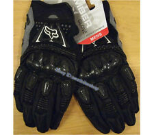 All new Fox Racing Bomber Motorcycle Bike Gloves Black S/M/L/XL