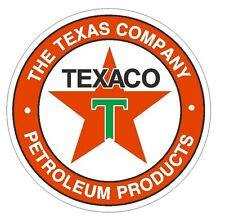 Texaco Gasoline Racing Vintage Style Vinyl Sign Decal Sticker MADE IN USA R44