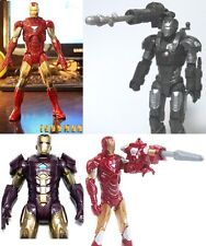 Avengers Iron Man 2 3 MARK VI VII MARVEL MATTEL Action figure da collezione