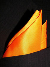 "Classic Silk Pocket Square by Royal Silk- Full Sized 16""x16"" - 30 Colors"