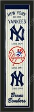 MLB Teams Framed Heritage Banner With Logos-Choose Team