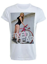 Girl Fixie T-Shirt - T shirt Top Bike Bicycle Sexy Shop Man Fixed Gear Boobs Bum