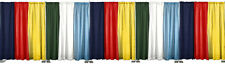 8 FT HIGH x 50 FT WIDE PIPE AND DRAPE KIT (WITH ECONOMY DRAPES) - PIPE & DRAPE