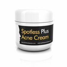 #1 SPOTLESS Acne Cream Fast Treatment Clear Skin Face Spot Scars Cure Retinol UK