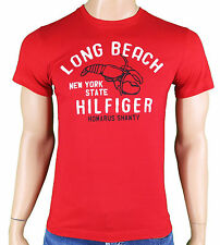 Tommy HILFIGER T- Shirt LOBSTER TEE S/S Herren Rot Gr.  M - XXL TH#