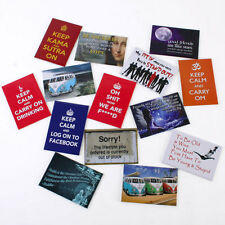 Magnet with Sayings, Keep calm, Facebook, Unique, Friends, Campervan
