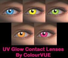 ColourVUE UV Glow Farbige Kontaktlinsen Funlinsen Coloured Contact Lenses CHOOSE