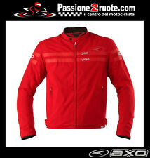 Giacca moto Axo street Vogue Roma red Bmw F650 F700 F800 R Gs C1 Hp2 S1000 rr