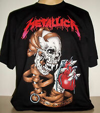 Metallica Heart Explosive Top Quality T-Shirt Size S - 3 XL new Heavy Metal Band