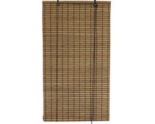"2' x 6' 24"" x 72"" Brown Bamboo Slat Roll Up Blinds Window Shades Privacy Screen"