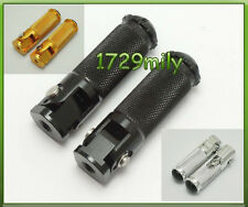 2pcs Motorcycle CNC Folding Foot pegs Footpeg Rear set Rest Racing