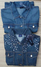 WESTBOUND MISSES DENIM FADED BLUE JEANS JACKETS SIZES M to XL LIST $49 to $55